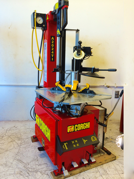 Demo Refurbished Used Corghi Tire Changer For Sale